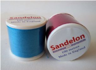C00190 Sandelon Sew Cool Polyester Sewing Thread - 100m - Full Colour Range